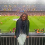 Great night at Nou Camp. Thanks @FCBarcelona for the tickets. What a day!!! http://t.co/3lsKhxg3rR