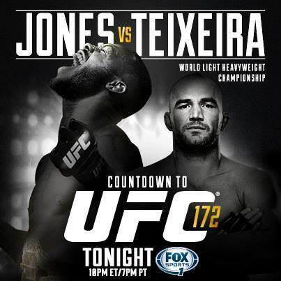 Don't miss Countdown to UFC 172: Jones vs Teixeira tonight at 10/7pm ET/PT on @FOXSports1! http://t.co/WE2bK4bl4O