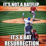 RT @MLBMeme: And on the third at-bat he rose again #HappyEaster @pelon2327 http://t.co/UB127c7qrt