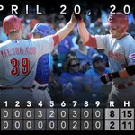 RECAP: Bruce and Cozart both hit homers in #Reds' win over Cubs. http://t.co/OFeBrj74EW http://t.co/2IzuxI8lq1