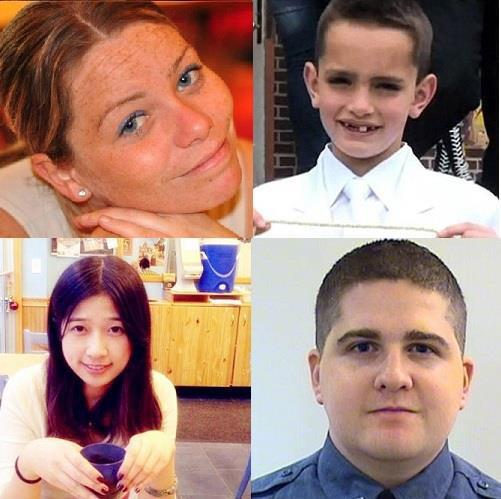 Tomorrow we show up - we bounce back and #WeRunTogether for Martin, Krystle, Lingzi Lu & Sean. #BostonStrong. http://t.co/08GMCstusU