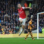 RT @Arsenal: Who do you think had the better goal celebration against Hull City? Was it @aaronramsey ... http://t.co/wbdLgNuPfH