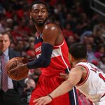RT @WashWizards: Its all over! #Wizards Win Game 1! Final: Wizards 102- #Bulls 93. Nene 24p, Wall 16p-6r-6a #WizBulls #dcRising http://t.co/8pClhSJPrL
