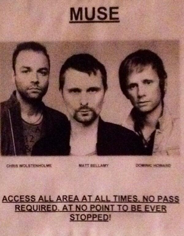 Sunday Photostravaganza Part 4: It's Good to Be @muse @coachella #music http://t.co/y3BuOqimdH