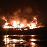 RT @itvnews: Large fire and explosions reported in Armley area near Leeds http://t.co/PietS8tM36 http://t.co/zqyEHQKNWp