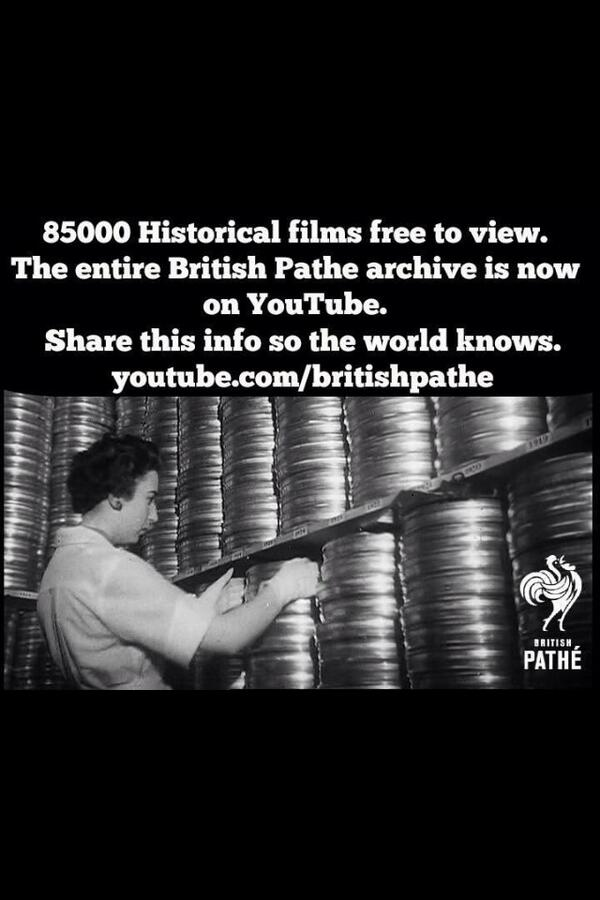 This is great news #britishpathe  http://t.co/3DHYbDSwNa http://t.co/bDRhYwyg7s