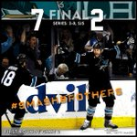 RT @SanJoseSharks: #SJSharks #BeatLA! Sharks score seven straight goals to take the 2-0 series lead on the Kings! On to LA! http://t.co/alvxsyT8qZ