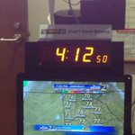 My view as I look into the camera every morning on #wsbtv #RIPCaptHerb http://t.co/OniwHrXaTt