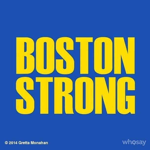Brooke Burke-Charvet @brookeburke: RT @grettamonahan: Good luck to all those participating in the #BostonMarathon today! #BostonStrong http://t.co/aDuUHe6x8o