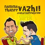 Form our Super Fans at Digitally Inspired Media! #whistlepodu #returnofthepride #CSKvsDD http://t.co/lHpqqO0P93