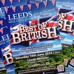 Join us to celebrate everything about Britain on 14 June @LeedsMinster & take a musical tour around the UK! #Leeds http://t.co/j7GIWFWR7U