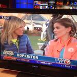 RT @Eric_Steckling: @NMoralesNBC on #7News this morning to talk about #RunningStrong today. Good luck to her and the other runners! http://t.co/FvnmMNQSdB