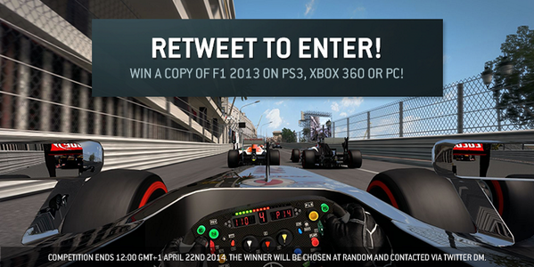 COMPETITION: RT for a chance to win a copy of #F12013! http://t.co/kvqte7TtMn