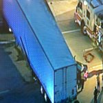 RT @wptvTRAFFIC: @Chopper5WPTV is over an accident on Clint Moore Rd in Boca. Car under Semi http://t.co/bK69e8wbDI
