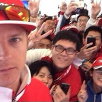 RT @Formula1game: But first, let me take a selfie. http://t.co/u8ZtsCEy83
