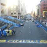 Early view of the #Boston Marathon finish line. #wbz http://t.co/S0p2TK2J8P