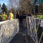 RT @LisaCreamer: Increased police, military police presence at #BostonMarathon near starting line in Hopkinton http://t.co/O49H7DBE8I