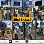 RT @AamAadmiParty: If we all #Unite4AAP, nothing is impossible. Let the change begin with your vote! http://t.co/rruvAZtEwb