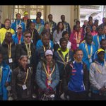 PHOTO: Elite #BostonMarathon runners @FairmontCopley before departing for the starting line in #Hopkinton #wbz http://t.co/lilaPxexDP