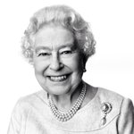 Queen Elizabeth II unveils the new portrait to mark her 88th birthday, taken at Buckingham Palace by David Bailey. http://t.co/sEaFpFp1xQ