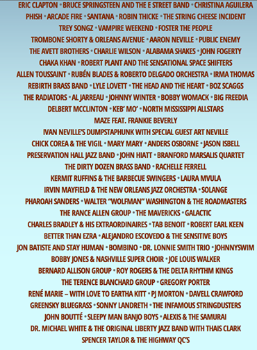We are giving away 2 more 1-day tickets to @jazzfest!! Follow us & retweet to win! Good for April 25, May 1,2, or 4. http://t.co/BZRyaSnzUW