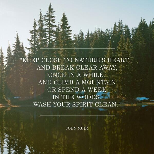 Today, we're celebrating one of America's most influential naturalists and conservationists.  Happy #JohnMuirDay -- http://t.co/signcRoYVe