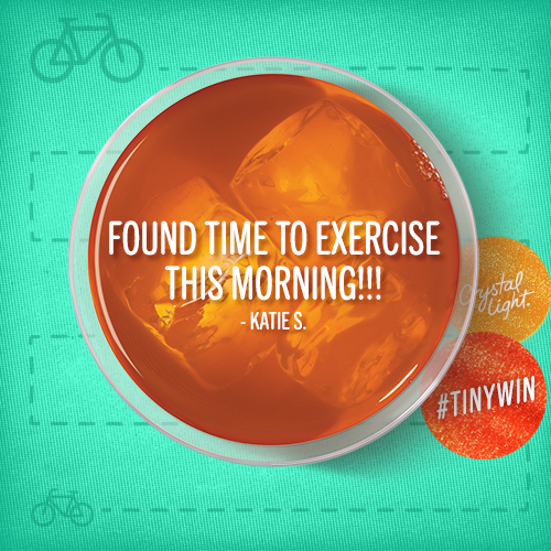 Love this #tinywin from @katieselman! What was your #tinywin today? http://t.co/zg4bohfDKE