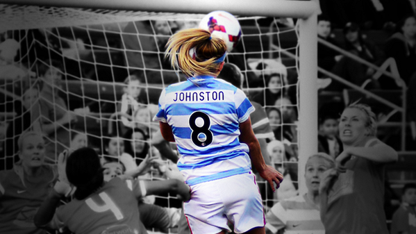 Sick photo of @_JulieJohnston_'s game winner from Saturday's @chicagoredstars W. http://t.co/fjzDW2M6dK