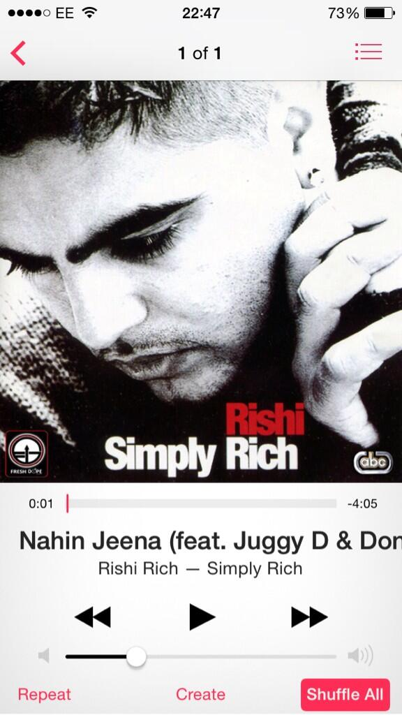 Vote for our song #nahinjeena by me and my bro's @MusicByRR & @theREALJuggyD  #simplyrich #Bhangra50 #bless http://t.co/djLqOYf2QP