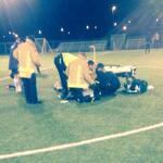 RIP to the young player who died in Woodbridge tonight. 🌹 died doing what he loved 💕⚽️😢 http://t.co/3vl2Sw09ME