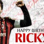 Happy birthday Ricky! Write him your red&black bday wishes / Feliz Aniversário @KAKA! #weareacmilan http://t.co/ENwVo3Id4H