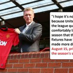 Flashback, Moyes in quotes. http://t.co/ukJDJTl81y
