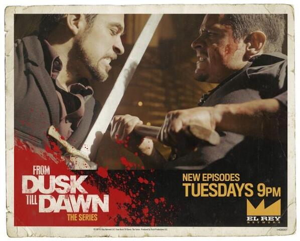 Tonight's episode of #FromDuskTillDawn was directed by Evil Dead director, Fede Alvarez (@fedalvar) http://t.co/5QxEZgGGou