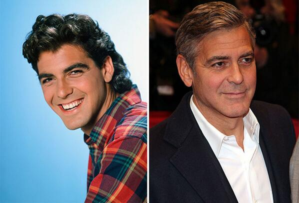 Happy Birthday, George Clooney! A look back at his evolving hair: http://t.co/6UsdvbEWOA http://t.co/CzXHEe259Y