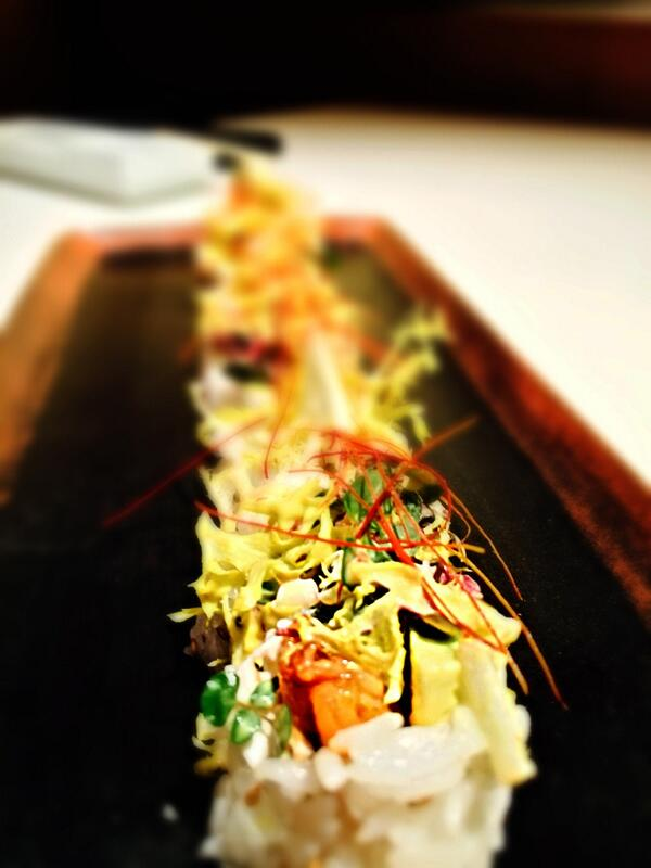 Katsuya Brentwood's Roll of the Week inspired by @chefthefilm out this week!!  #RollOfTheWeek #ChefMovie http://t.co/YQIH27xKld