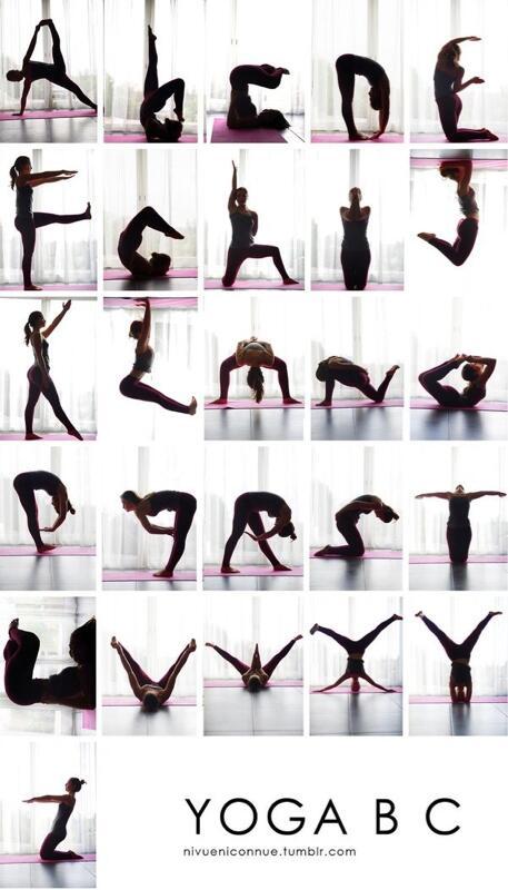 El abecedario del Yoga: nos encanta! http://t.co/SnfeyBR754
