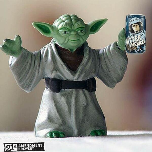 May the fourth #beer with you. #21A #brewfree http://t.co/pkPXeTJdFg