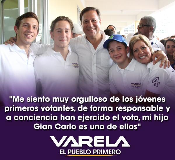 Me siento muy orgulloso de los jóvenes primeros votantes, de forma responsable y a conciencia han ejercido el voto http://t.co/7RTJIzlZrc
