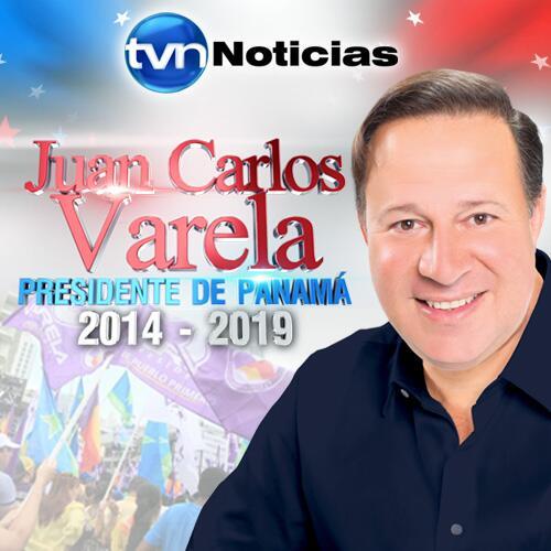 Con 60% de mesas escrutadas. JUAN CARLOS VARELA es anunciado como ganador virtual de la Presidencia #Decision2014TVN http://t.co/F40MT0r7uf