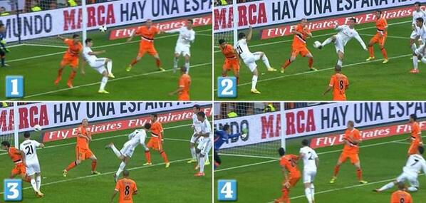 Bm3Ti 0CEAAXzEF The best memes & pictures of Cristiano Ronaldos stunning back heel Golazo v Valencia