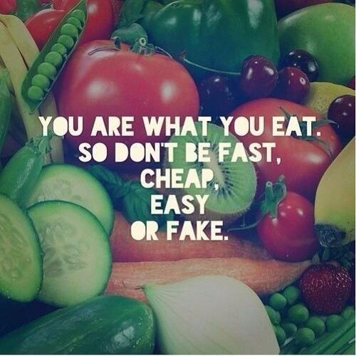 You are what you eat... Make a vow to eat only REAL FOOD this week! ❤️ http://t.co/OyLcfOWjHu (via @lovelindawagner)