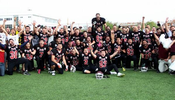 Korumalı Futbol Süper Lig finalinde ODTÜ Falcons takımını 15-7'lik skor ile geçen İTÜ Hornest Türkiye Şampiyonu oldu! http://t.co/auXpeXDcXO