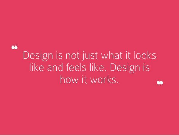 SlideShare (@SlideShare): 13 Steve Jobs quotes about design, via @stevepyoung: http://t.co/JW3Rk3wdFQ http://t.co/UMM38XiNPs