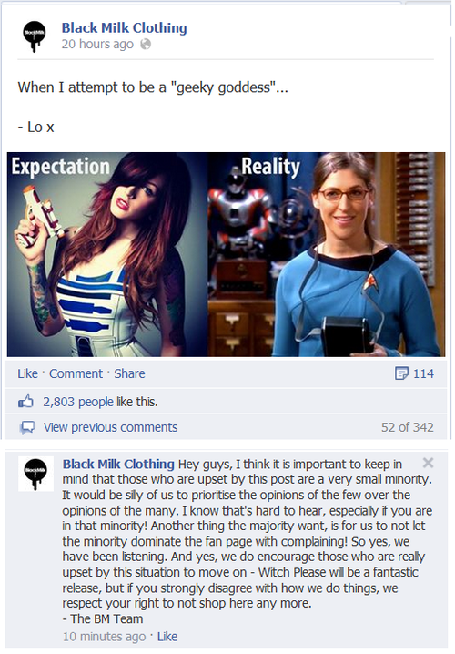 Dick move @BlackMilkTweets. Dick move. #WhenSocialMediaAttacks http://t.co/KLHDSAKmUo