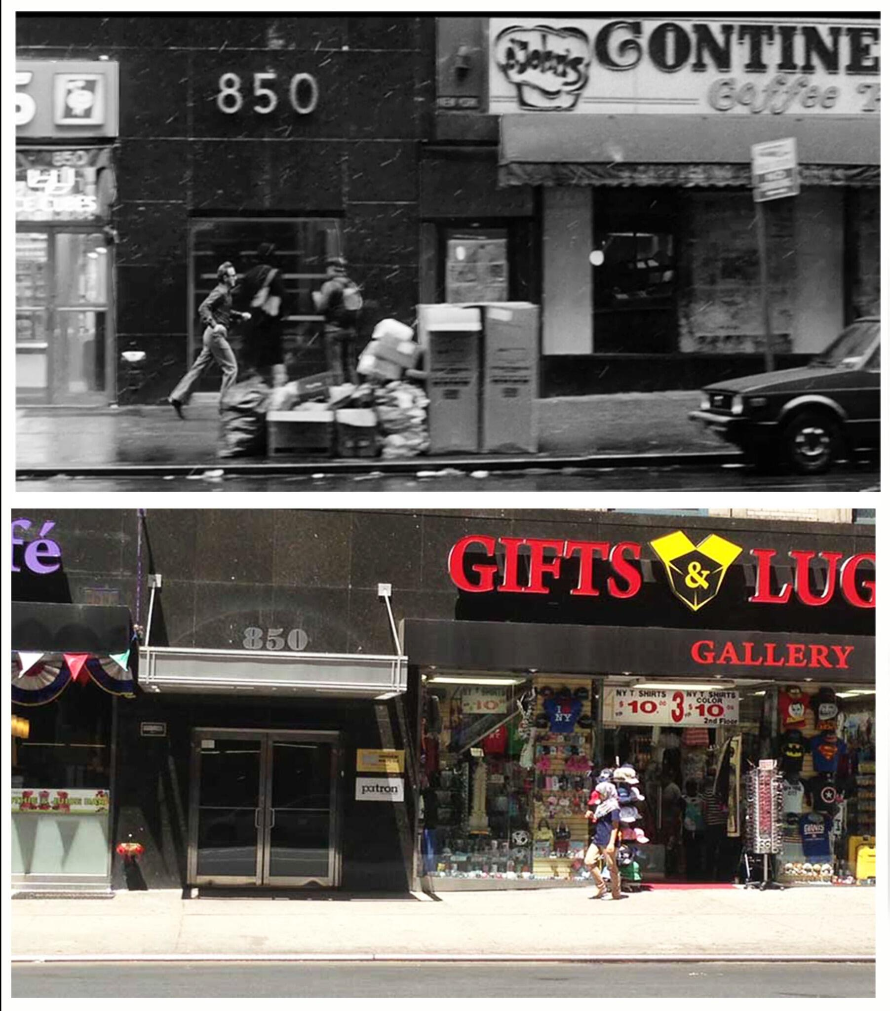 A new @SCENEPAST then & now from Woody Allen's 1983 film BROADWAY DANNY ROSE-7th Ave & 54th St #NewYork #iPhone #app http://t.co/6teN7fupwG
