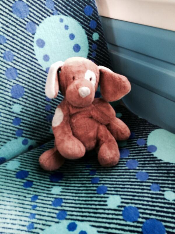 FOUND: lost teddy on 391 bus between Fulham and Richmond. Quite sad looking. WANTED: equally sad owner? http://t.co/vTJICdyJan