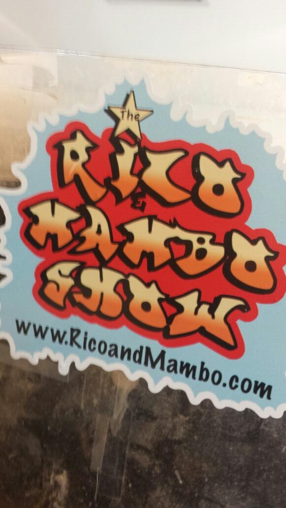 RT @thereallilrob: Lil Rob at the Rico & Mambo morning show!!! http://t.co/dkbbf2ObAi