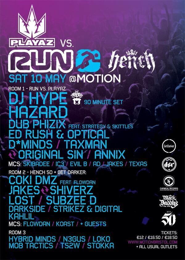 Bristol this Saturday for @RunBristol. The @HENCH_RECS tunnel ;) http://t.co/AJhuWtBnub