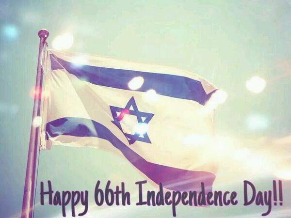 We're thrilled to celebrate Israel's 66 years of independence, RT to celebrate our national day with us! #Israel66 http://t.co/yJQLMYZJ3N