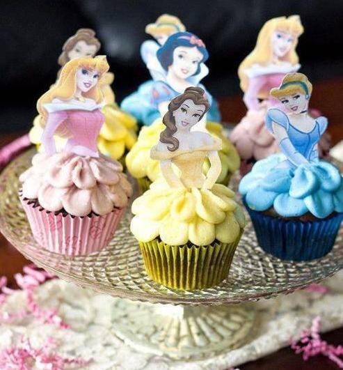 Disney princessのカップケーキ☆ よく出来てるなあ~って思ったらRTしてね^^ https://t.co/aCtDF5Xqzq